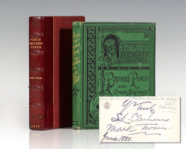 Punch, Brothers, Punch! And Other Sketches by Mark Twain.
