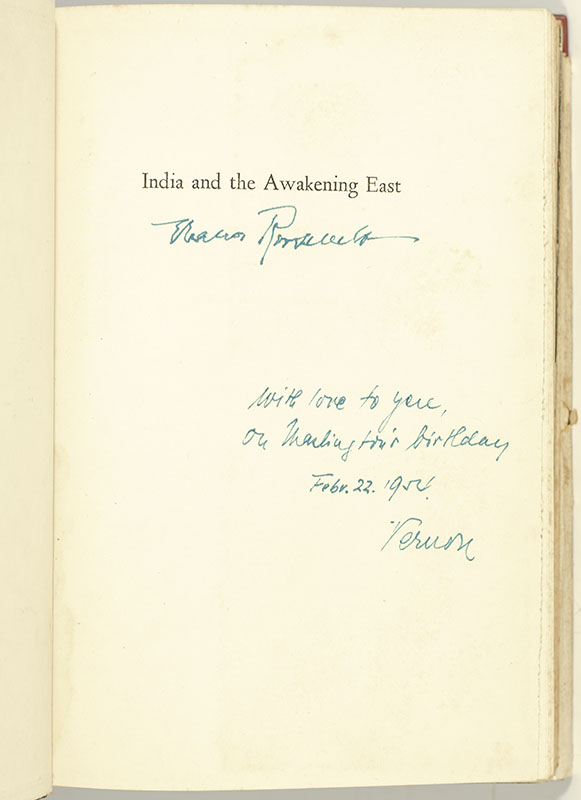 India and the Awakening East.