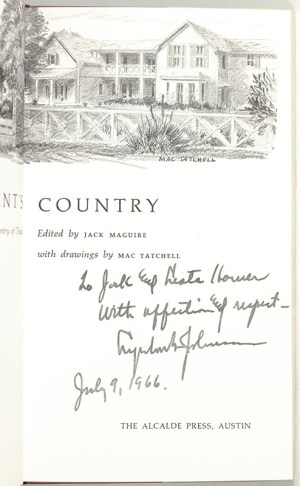 A President's Country: A Guide to the Hill Country of Texas.