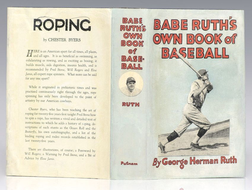 Babe Ruth's Own Book of Baseball.