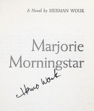 Marjorie Morningstar.