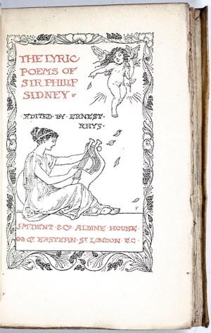 The Lyric Poems of Sir Philip Sidney.