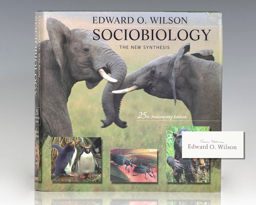 Sociobiology: The New Synthesis.