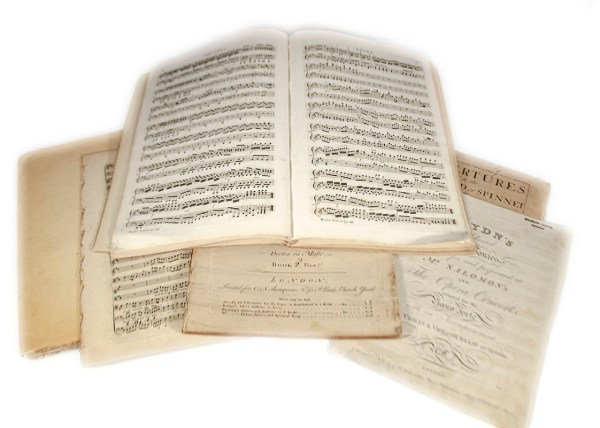 Celebrated Symphonies and Overtures of Joseph Haydn and George Frideric Handel.
