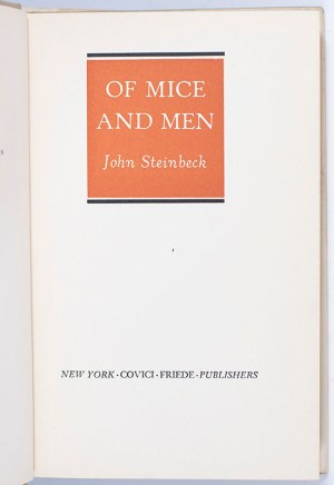 Of Mice and Men.