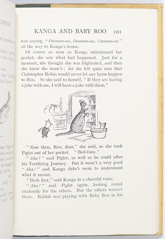 Winnie-the-Pooh. With Decorations by Ernest H. Shepard.