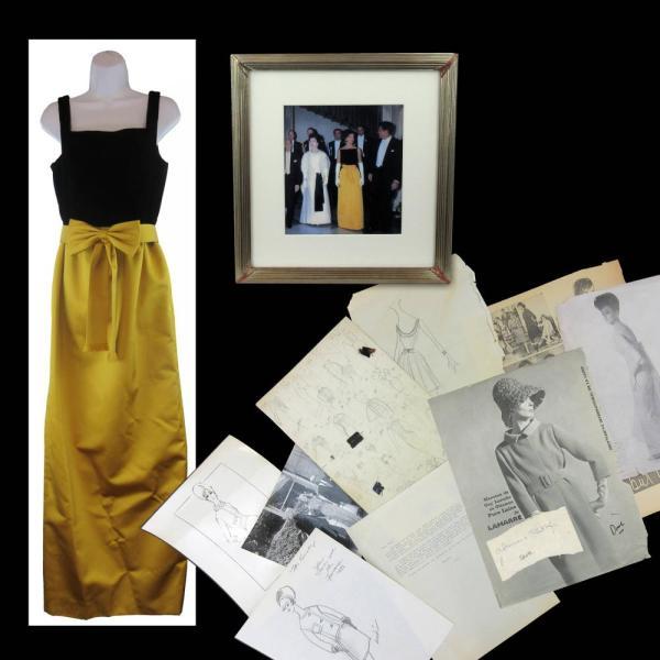 Jacqueline Kennedy Oleg Cassini Dress Design Archive.