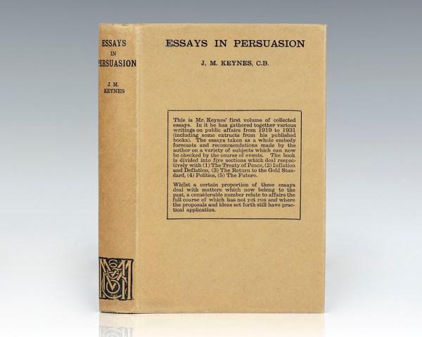 Essays in Persuasion.