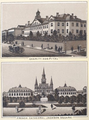 New Orleans Souvenir Album and Travel Brochure Collection.