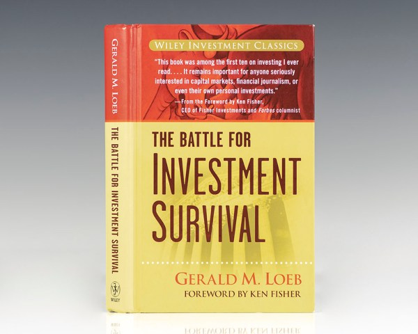 The Battle For Investment Survival.