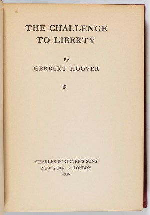 The Challenge to Liberty.