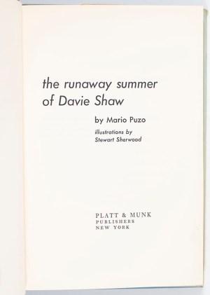 The Runaway Summer of Davie Shaw.