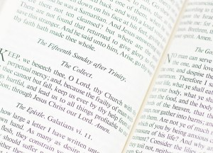 The Book of Common Prayer Together With The Psalter of Psalms of David.