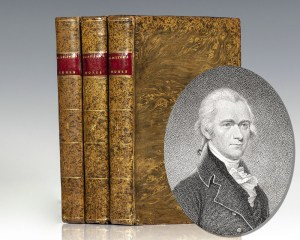 First collected edition of The Works of Alexander Hamilton; Comprising His Most Important Official Reports