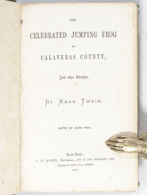 The Celebrated Jumping Frog of Calaveras County, and Other Sketches.