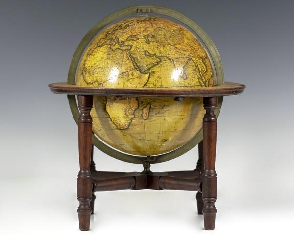 Cary's New Terrestrial Globe. [Nineteenth Century English Terrestrial Globe].