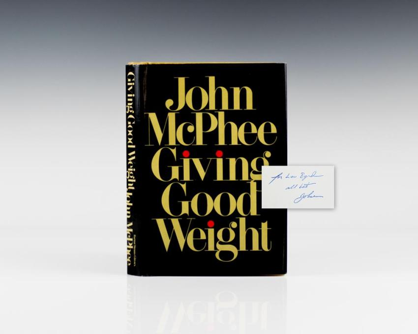 Giving Good Weight.