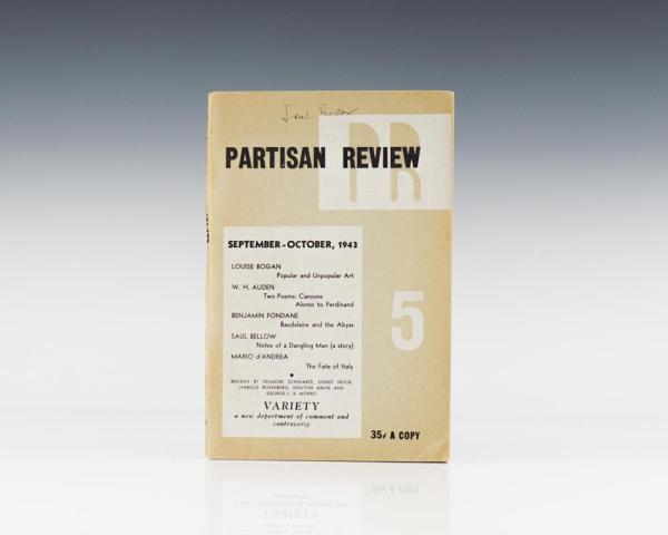 Partisan Review. Volume X, No. 5. September-October, 1943.