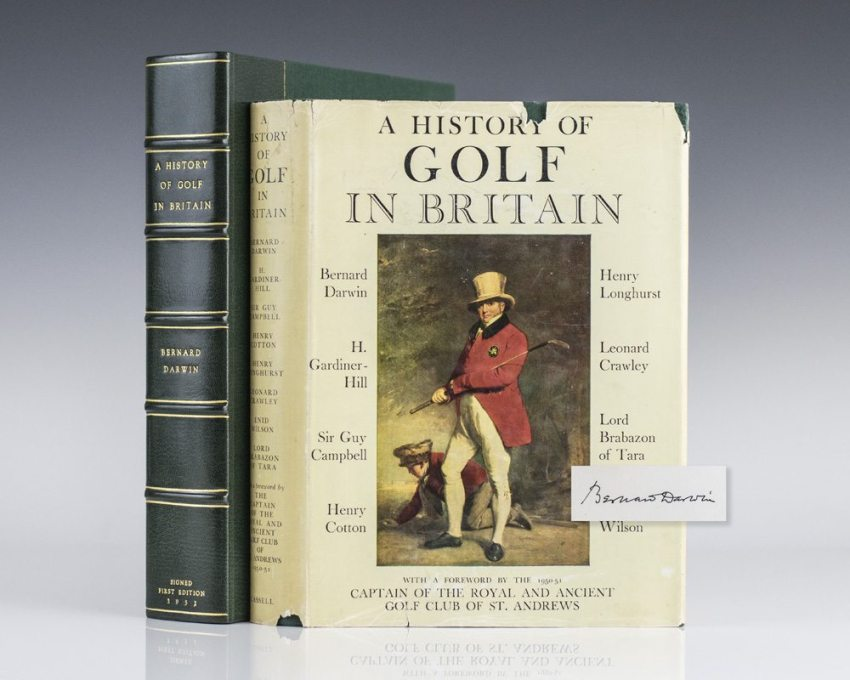 A History of Golf In Britain.