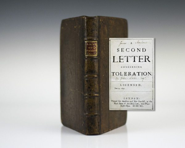 Second Letter Concerning Toleration and A Third Letter for Toleration.