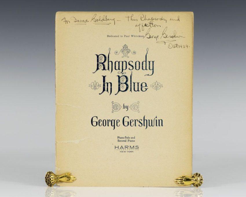 Rhapsody in Blue.