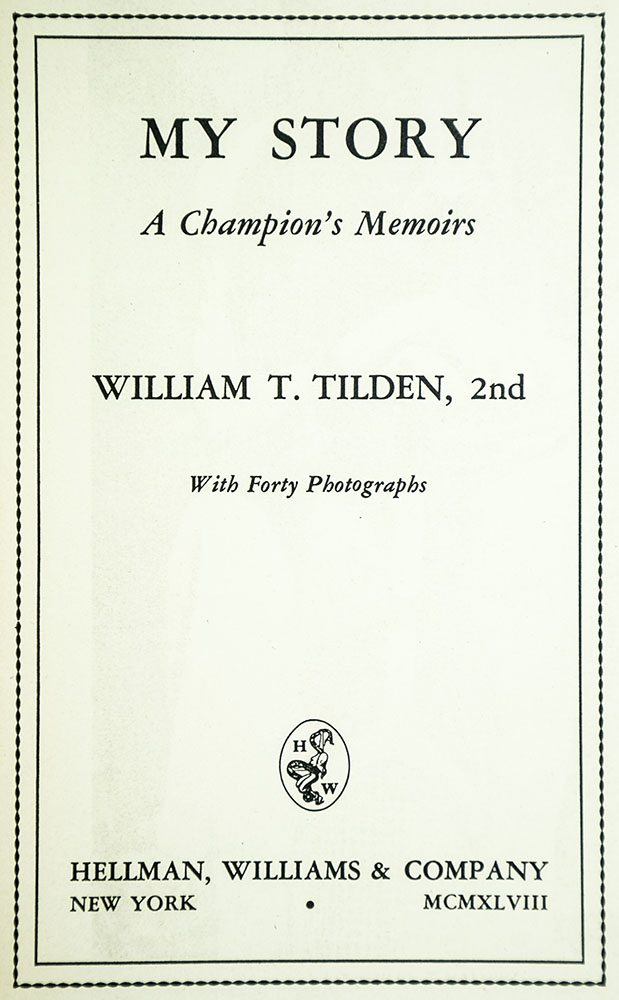 My Story: A Champion's Memoirs.