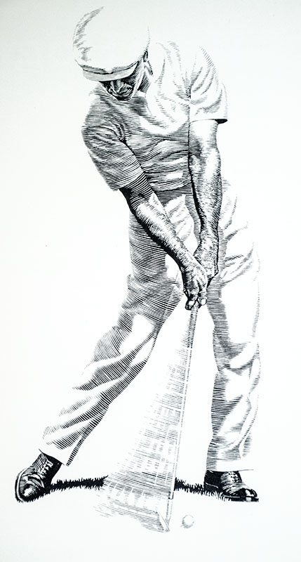 Five Lesson Ben Hogan First Edition Signed