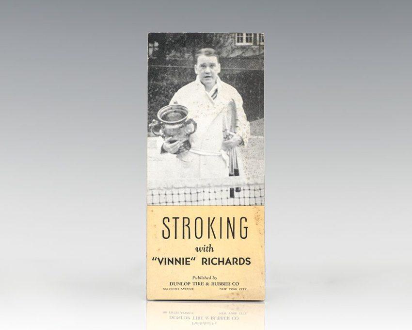"Stroking with ""Vinnie"" Richards."