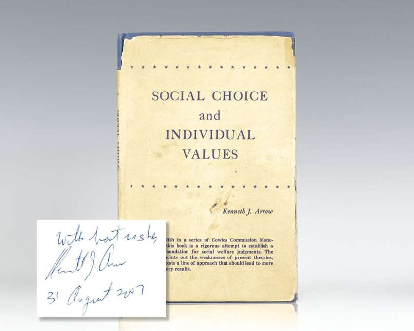 Social Choice and Individual Values.