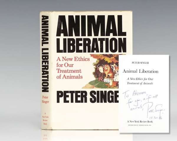 Animal Liberation: A New Ethics for Our Treatment of Animals.