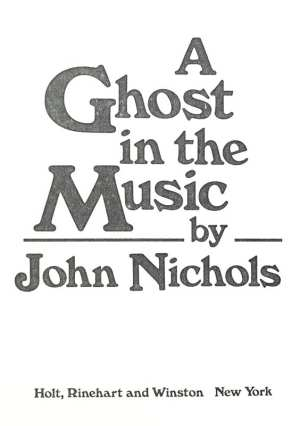 A Ghost in the Music.