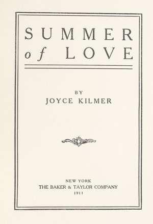 Summer of Love.
