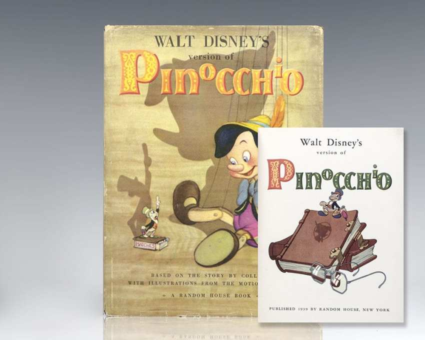 Walt Disney's Version of Pinocchio: Based on the Story by Collodi, with Illustrations from the Motion Picture.
