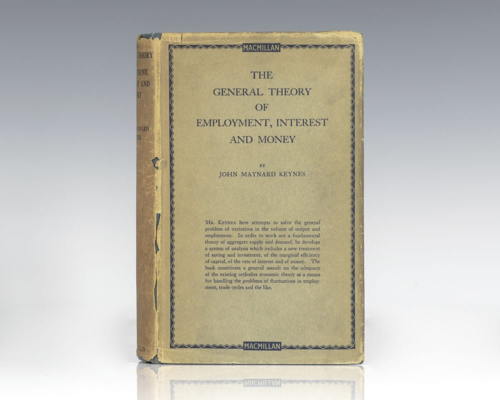 The General Theory of Employment J.m. Keynes First Edition Rare