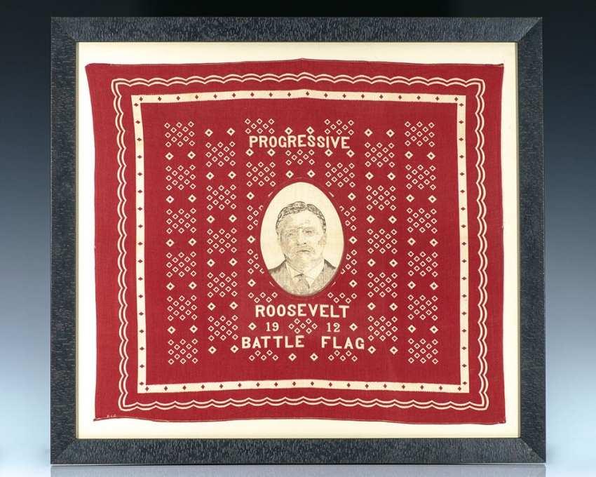 Progressive Era Battle Flag: Theodore Roosevelt.