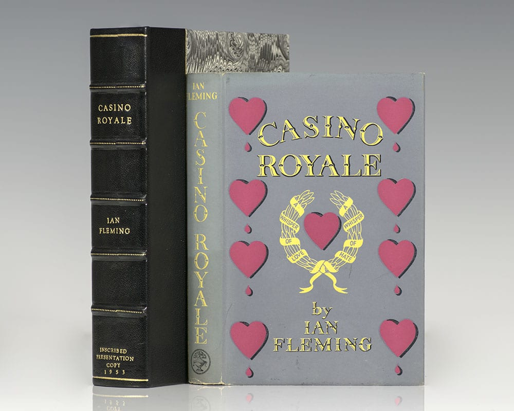 casino royale first printing
