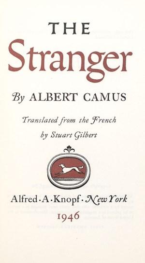 The Stranger.