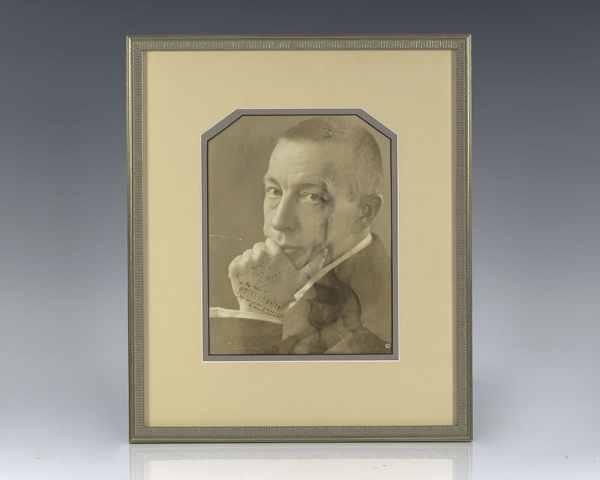 Sergei Rachmaninoff Signed Photograph.
