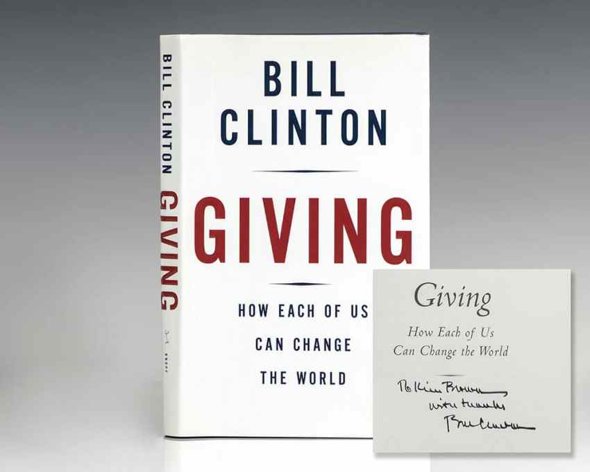 Giving: How Each Of Us Can Change The World.