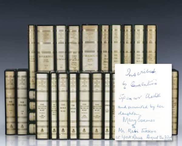 The First Collected Works of Sir Winston Churchill: Centenary Limited Edition.