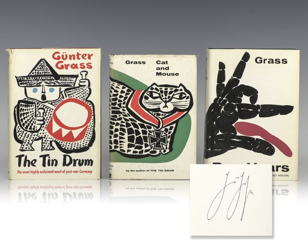 The Tin Drum, Cat and Mouse, Dog Years.