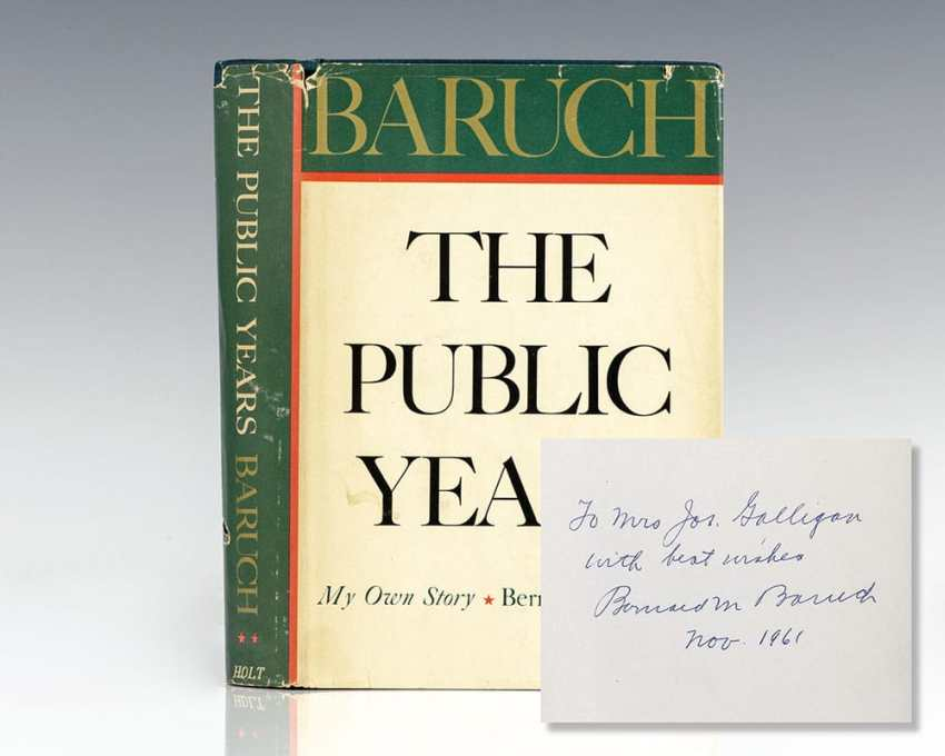 The Public Years: My Own Story.