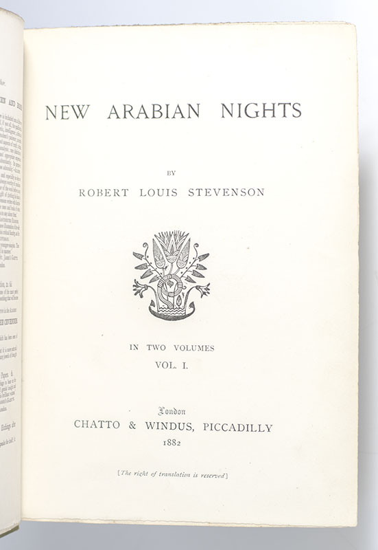 New Arabian Nights.