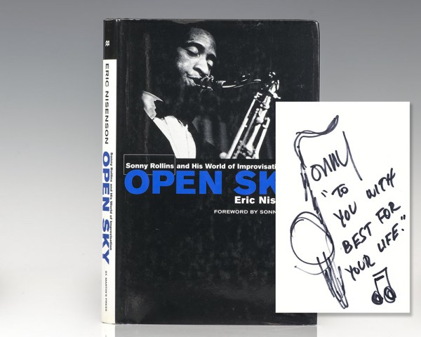 Open Sky: Sonny Rollins and His World of Improvisation.