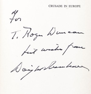 Crusade in Europe: A Personal Account of World War II.