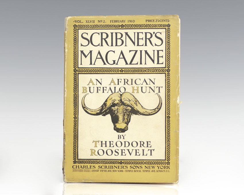 Scribner's Magazine Vol. XLVII No. 2 February 1910: African Game Trails: An Account of the African Wanderings of an American Hunter-Naturalist: An African Buffalo Hunt.
