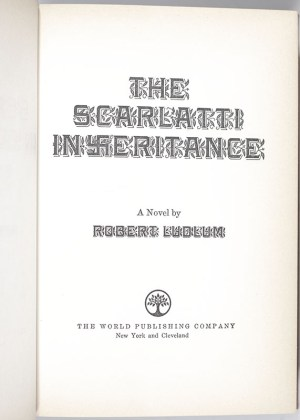 Robert Ludlum First Edition Collection.