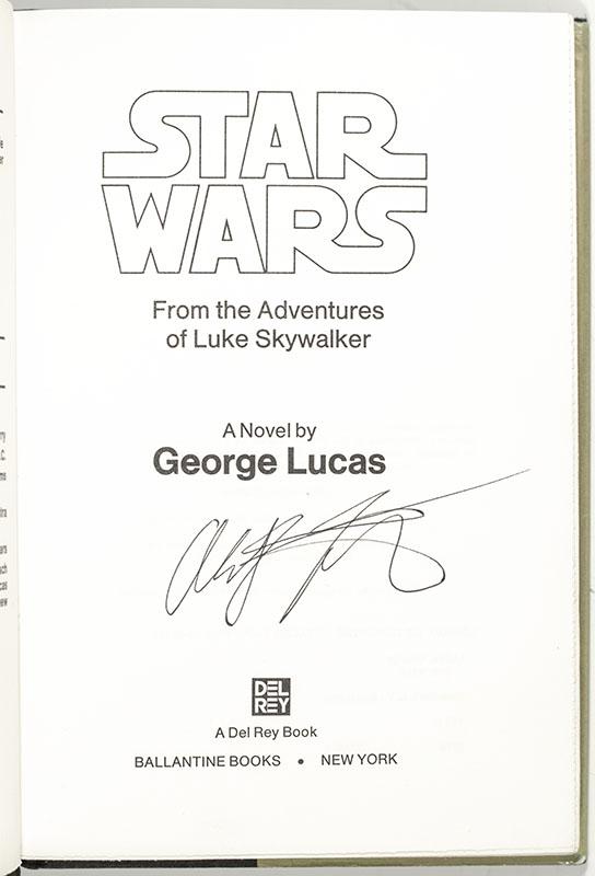 Star Wars: From the Adventures of Luke Skywalker.