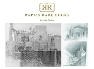 Raptis Rare Books Lecture Series: The Drawings and Painting of Coral Gables and Rome: Thomas A. Spain.