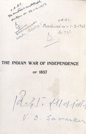 The Indian War of Independence of 1857.